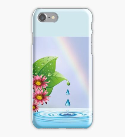 Water droplets (6432  Views) iPhone Case/Skin