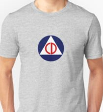 Civil Defense Emblem Unisex T-Shirt