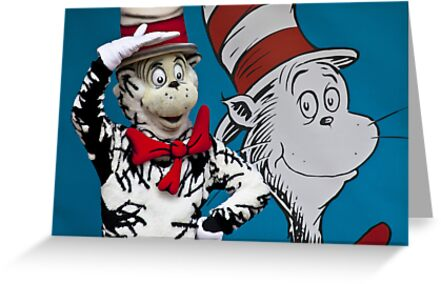Cat in the hat. by John Vandeven