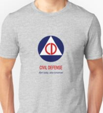 Civil Defense - Alert today, alive tomorrow! Unisex T-Shirt