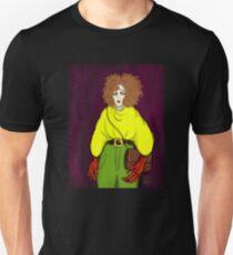 Girl with Handbag Slim Fit T-Shirt