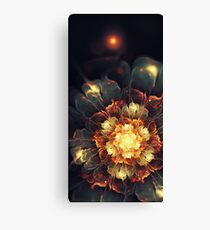 Blooming Heat Canvas Print