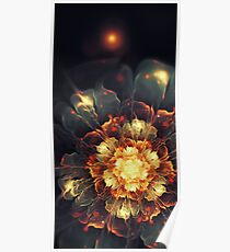 Blooming Heat Poster