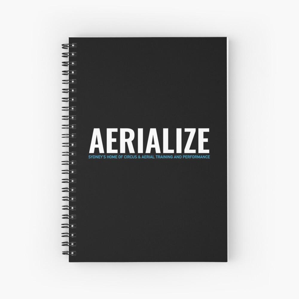 Aerialize Merchandise Spiral Notebook