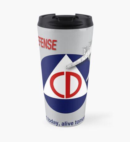 Civil Defense - Bomber Travel Mug