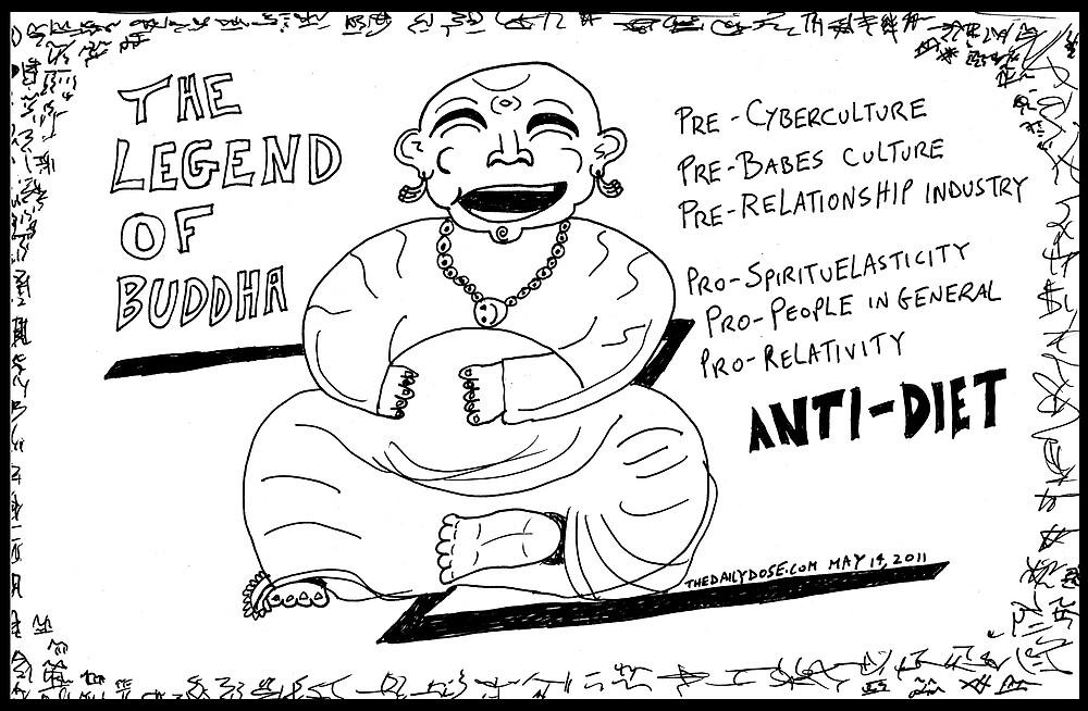 Buddha haha by bubbleicious