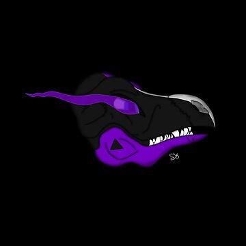 Dragon - Purple Black by stormstre