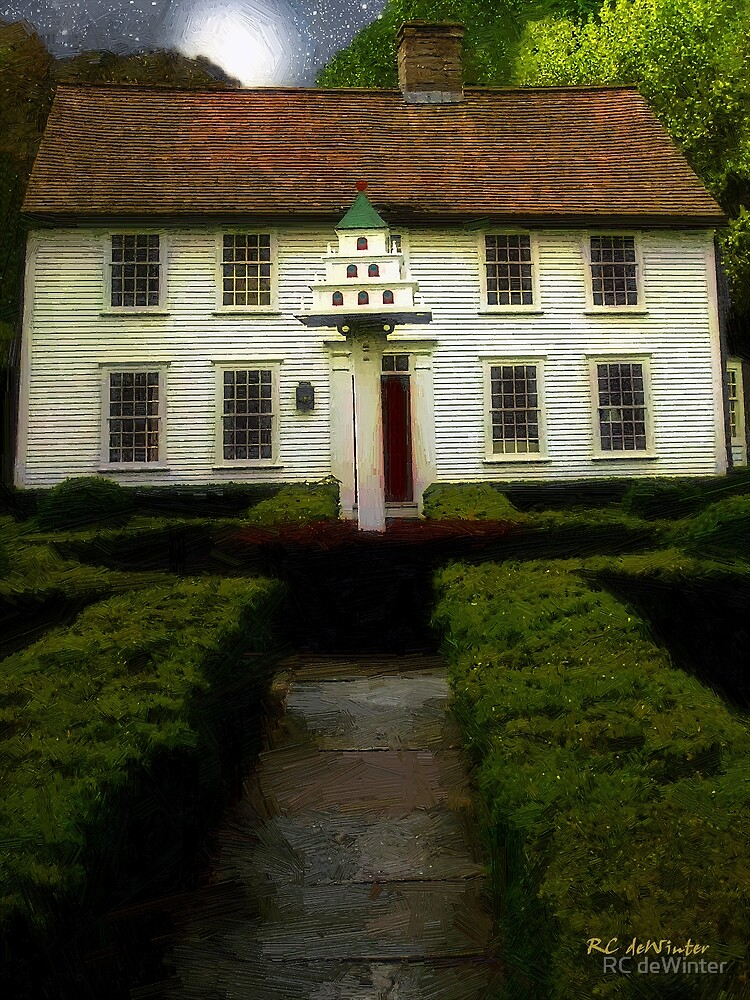 Martin House on Main Street by RC deWinter