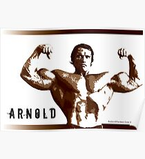 Arnold Schwarzenegger - Front Double Biceps Poster