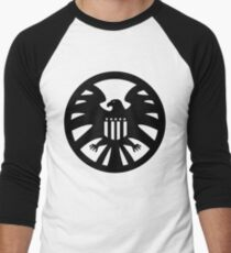 S.H.I.E.L.D. seal Men's Baseball ¾ T-Shirt