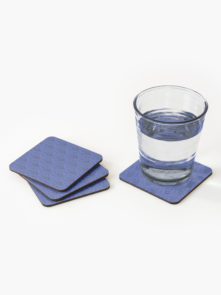 Alternate view of Ronon's Reviews Official Merch Coasters (Set of 4)
