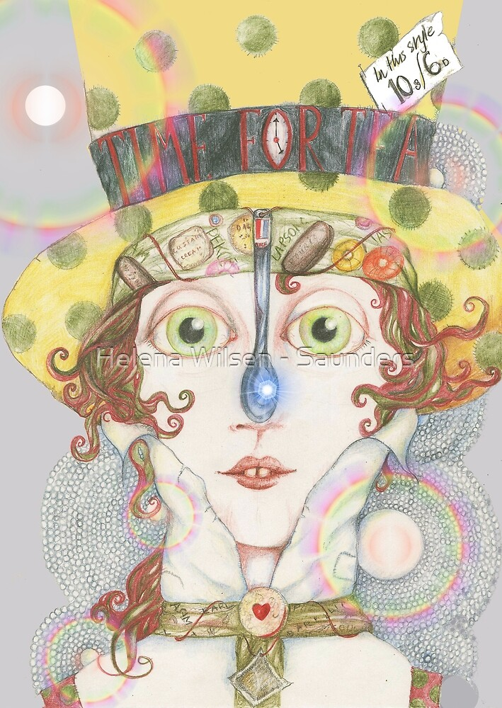 Time For Tea by Helena Wilsen - Saunders
