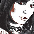 Glamour Model - Michelle Monaghan - Portrait by celebrityart