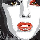 Glamour Model - Keeley Hazell - Portrait by celebrityart