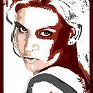 Model Bridget Thomas by celebrityart
