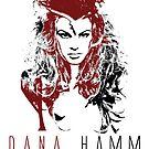 Model - Dana Hamm - Amazon Woman by celebrityart