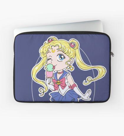Sailor Moon and Ice Cream Laptop Sleeve