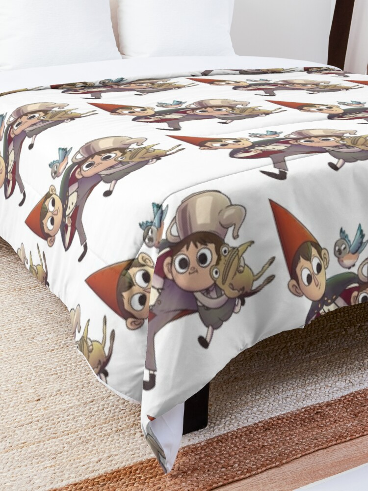 Alternate view of Over the Garden Wall Gang Comforter