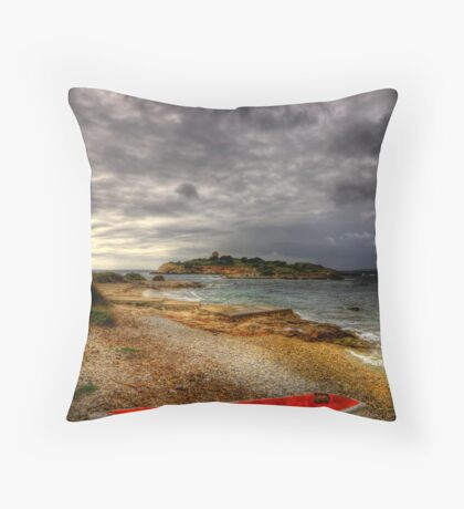Little Row Boat 2 Throw Pillow