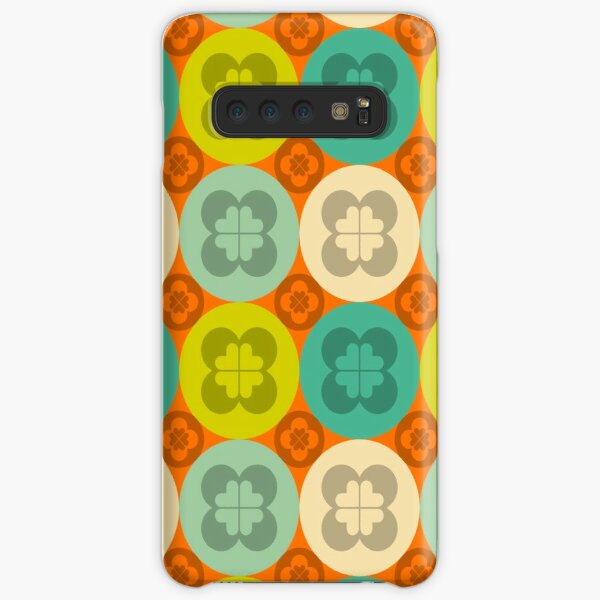 Geometric Pattern: Flower Circle: Summer Samsung Galaxy Snap Case