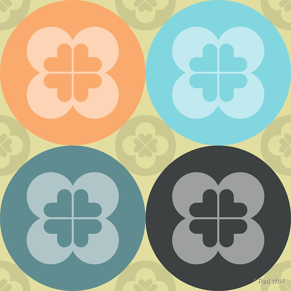Geometric Pattern: Flower Circle: Winter by * Red Wolf