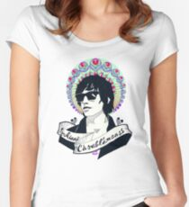 Julian Casablancas Women's Fitted Scoop T-Shirt