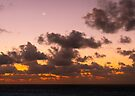 Sunrise over Caribbean - Cancun by Yelena Rozov