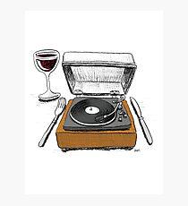 Dinner Music Photographic Print