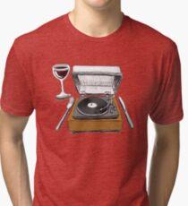 Dinner Music Tri-blend T-Shirt