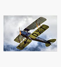 de Havillands D.H. 82 Tiger Moth Photographic Print