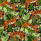 Bangel Tiger Jungle  by TigaTiga