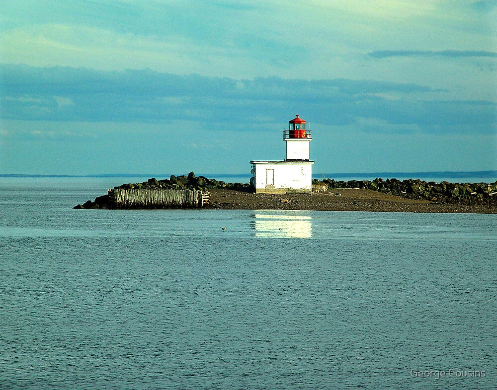 Parrsboro Lighthouse by George Cousins
