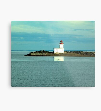 Parrsboro Lighthouse Metal Print