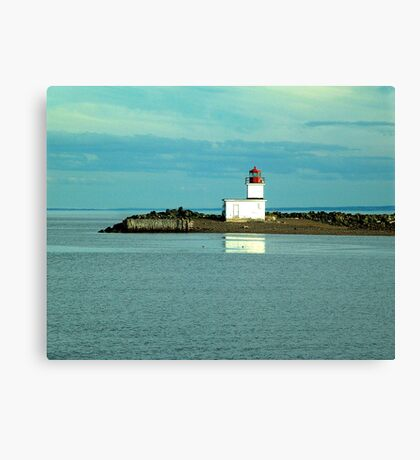 Parrsboro Lighthouse Canvas Print