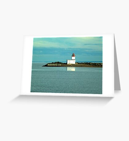 Parrsboro Lighthouse Greeting Card