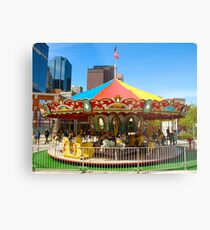 Childs Play - Carrousel Metal Print