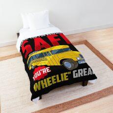 Thanks For Keeping Me Safe You're Wheelie Comforter