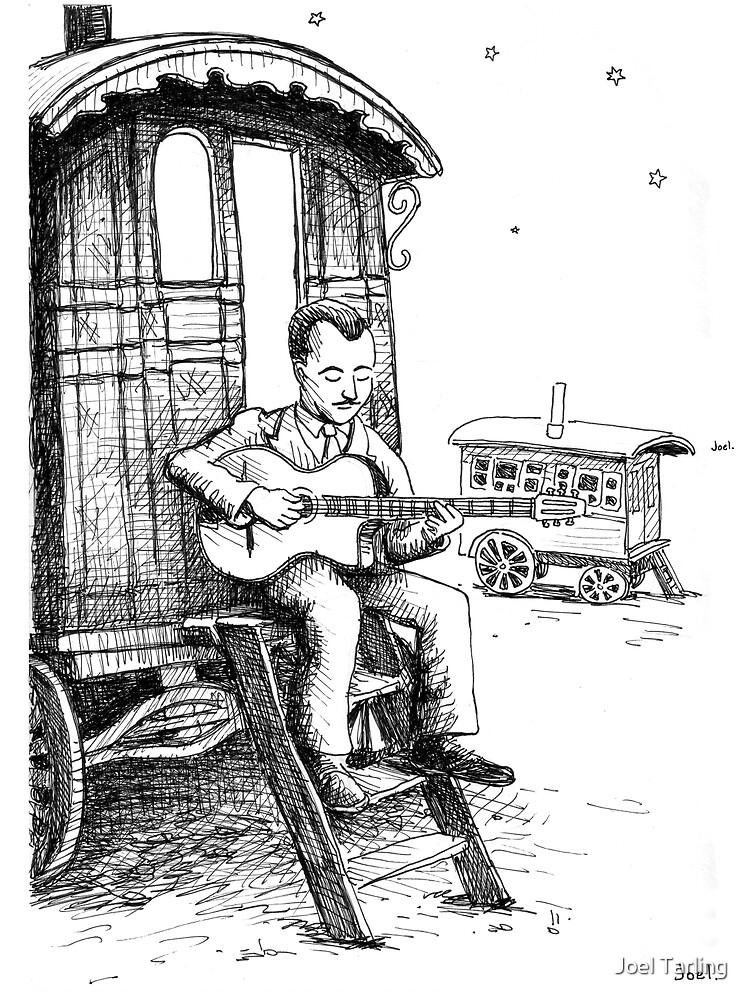Django Reinhardt by joeltarling