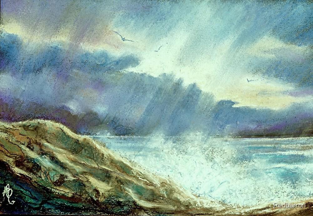 Storm Over The Atlantic by Redbarron