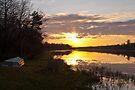 Morning on the lake by Yelena Rozov