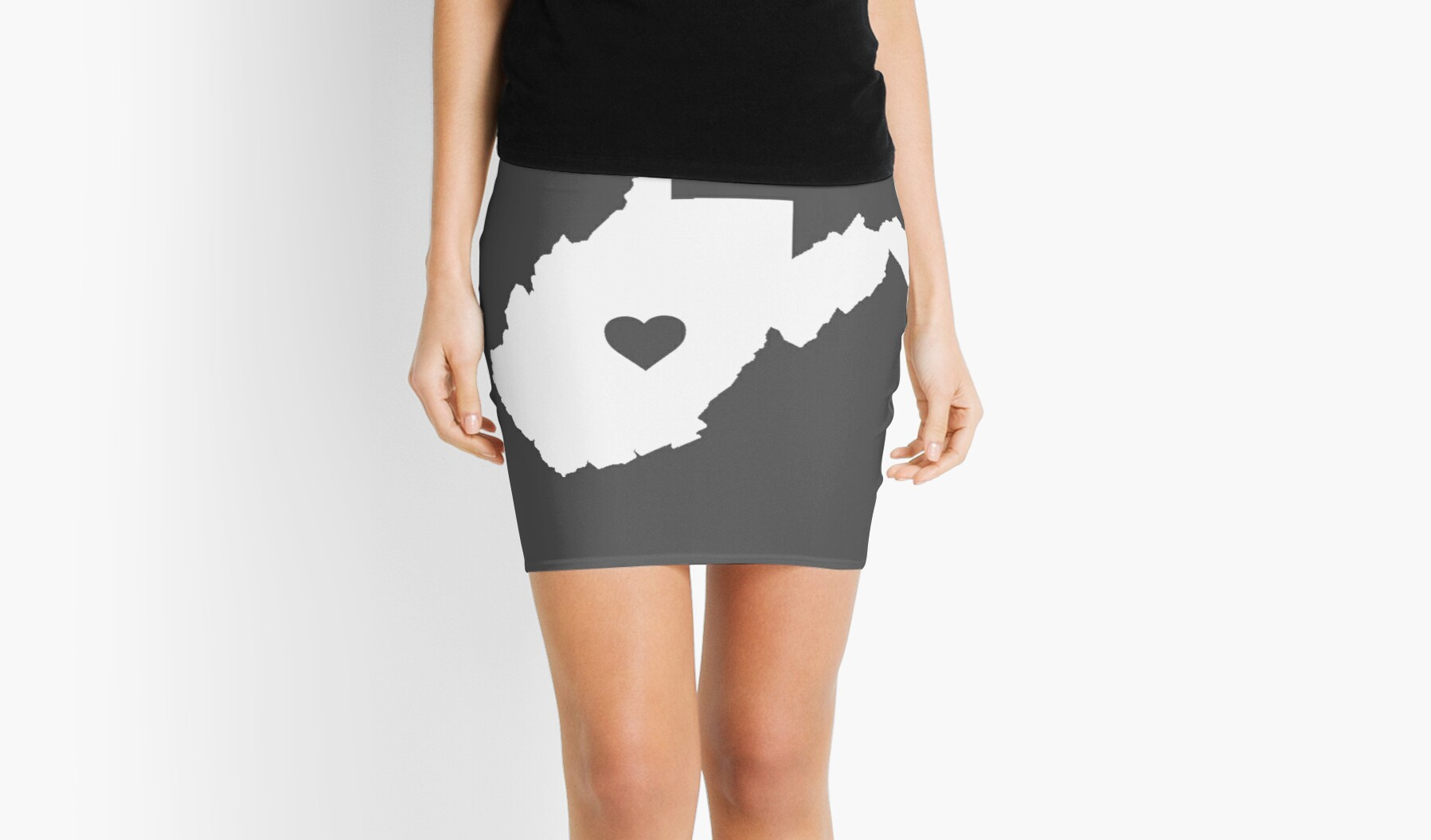 West Virginia Heart by Rjcham