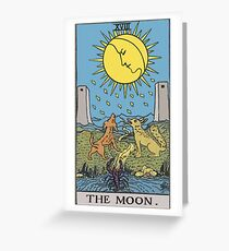 Tarot - The Moon Greeting Card