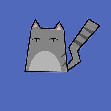 Grey Cat by Rjcham
