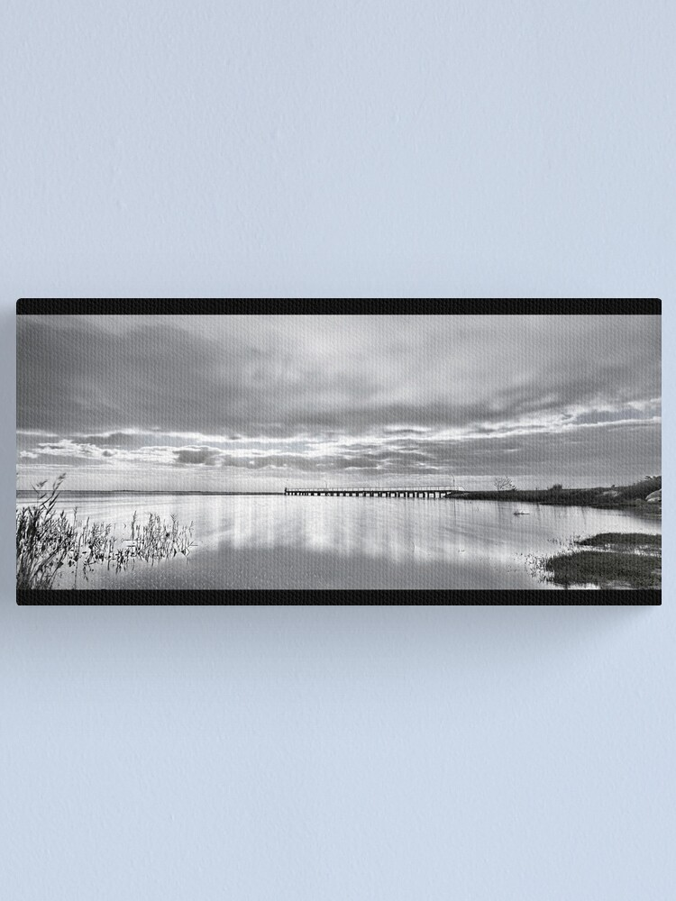 Alternate view of Lake Alexandrina. Canvas Print