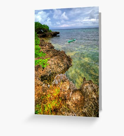 Rough Around The Edges Greeting Card