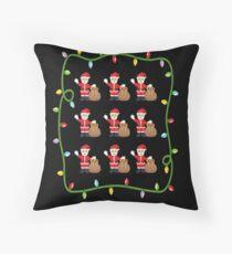 OMG Santa Coming  Floor Pillow