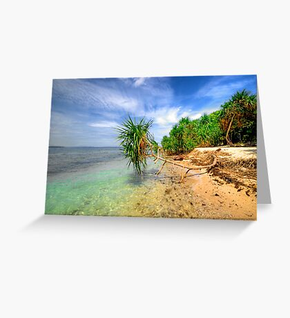 Sticking Out Greeting Card