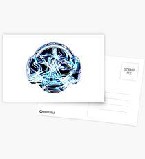 Liquid Acid Light Ray DJ (Variation) Postcards