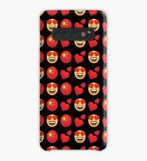 Liebe chinesische Emoji JoyPixels Reise nach China Hülle & Klebefolie für Samsung Galaxy