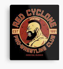 Pro-Wrestling Club Metal Print